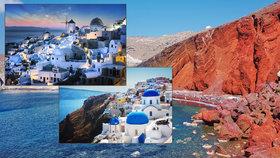 Santorini: Nejkrásnější a nejfotografovanější