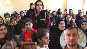 Člověk v tísni pomáhá v Iráku i Sýrii. O humanitární pomoci mluvil koordinátor projektů Jan Mrkvička