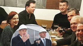 Babiš (ANO) poseděl v Kroměříži u piva i s hejtmanem Čunkem (KDU-ČSL). Ten ho doprovodil ve Zlíně i do Památníku T. Bati