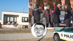 Šéf protikorupční jednotky NAKA Róbert Krajmer na místě vraždy Kuciaka