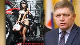 Podle slovenského novináře Eugena Kordy je  Mária Trošková milenkou premiéra Fica.