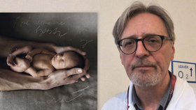 Profesor Richard Plavka se věnuje novorozencům ve VFN od roku 1986.