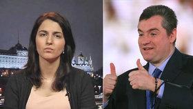 Reportérka Farida Rustamová obvinila ruského poslance Leonida Slutského ze sexuálního obtěžování.