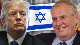 Zemanova iniciativa se rozjela krátce poté, co Trump prohlásil, že chce nový úřad v Jeruzalémě otevřít již letos v květnu.