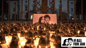 Vzpomínka na Jana Kuciaka a jeho přítelkyni Martinu