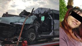 Smrtelná nehoda v Olešce si vyžádala život vozíčkářky: Hedvika (†40) už za dětmi nedojela.