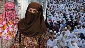 Muslimky sdílely svoje zážitky se sexuálním obtěžováním, ke kterému došlo během pouti do Mekky.
