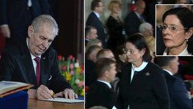 Bývalá šéfka Sněmovny Miroslava Němcová kritizuje kvůli inauguraci Miloše Zemana i svého nástupce Radka Vondráčka.