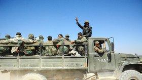 Syrské vládní jednotky postupně získávají kontrolu nad východní Ghútou.