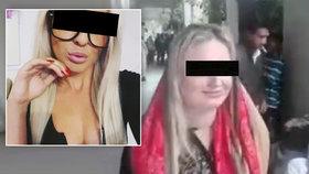 Soud s pašeračkou Terezou: Zatkli další členy gangu! Konzul jí předal »dárek«