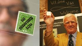 V rámci prodeje sbírky filatelisty Ludvíka Pytlíčka se dnes prodala nejvzácnější poštovní známka Československa.