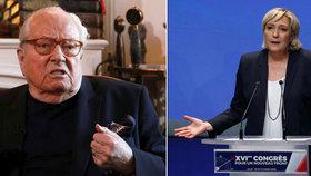V čele francouzské Národní fronty zůstává Le Penová, její otec přišel o svou funkci.
