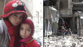 Alaa a Núr a další děti jsou uvězněny v obléhané Ghútě, veřejně prosím svět o pomoc.