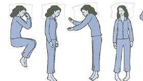 Test osobnosti: Poloha spánku prozradí, jestli jste egoisté, nebo introverti