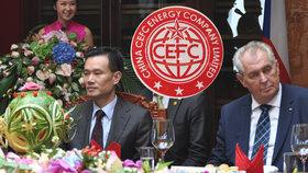 Číňané v problémech: Po zatčení Zemanova poradce jim krachne velký obchod v Česku?