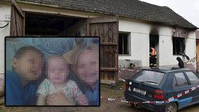 Tragický požár na Znojemsku: Až 141 tisíc pro rodinu mrtvých dětí, peníze dá obec, charita i stát