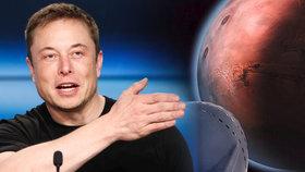 Vizionář Elon Musk vyzval ke kolonizaci Marsu.