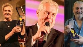 Miloš Zeman opět chystá na Hradě koncert, zazpívají tam i vyznamenaní Vondráčková a Hůlka