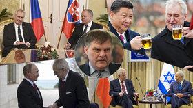 Ředitel zahraničního odboru prezidentské kanceláře Rudolf Jindrák promluvil pro Blesk Zprávy o chystaných zahraničních cestách Miloše Zemana. Žádné velké dálky zatím nečekejte.