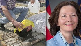Gina Haspelová, první žena mířící do čela CIA, je viněna z podílu na mučení (na snímku ukázka tzv. waterboardingu)