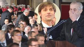 Neúspěšný kandidát na prezidenta Marek Hilšer neviděl v druhém inauguračním projevu Miloše Zemana nic státnického. Neočekává, že by se prezident výrazně v příštích letech měnil. I proto chce Hilšer kandidovat do Senátu.