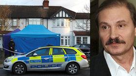 Britská policie vyšetřuje smrt ruského podnikatele Nikolaje Gluškova.