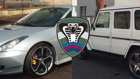 Policie odhalila podvody na daních za 75 milionů: U podnikatelů zabavili luxusní auta i miliony korun