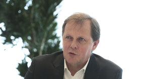 Generální ředitel ČT Petr Dvořák při rozhovoru pro Blesk Zprávy