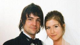 Svatební foto Alexe a Anny Chapmanových.