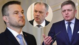 Slovenský prezident Kiska oznámil, je přijme demisi premiéra Fica a pověří sestavením nové vlády vicepremiéra Pellegriniho