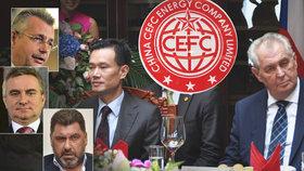 Hrad vyslal Mynáře a Nejedlého do Číny, mají prověřit zadržení Zemanova poradce