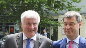 Horst Seehofer a Markus Söder z CSU