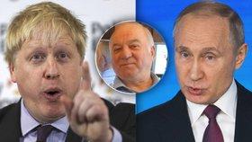 Podle britského ministra zahraničí Borise Johnsona otravu ruského exšpiona Sergeje Skripala nařídil osobně Vladimir Putin.