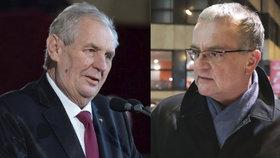 Kalousek proti Zemanovi: Miloši, ty už budoucnost nemáš.