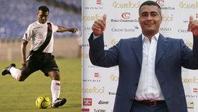 Romário v časech své největší slávy - a jako politik