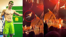 Akrobat z Cirque du Soleil se při show zřítil z 6 metrů: Pád nepřežil