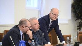 Bezpečnostní výbor kvůli šéfovi GIBS Murínovi: Expremiér Sobotka a exministr vnitra Chovanec (15.3.2018)