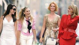 Hvězda seriálu Sex ve městě Cynthia Nixonová (druhá zprava) se chce stát guvernérkou státu New York