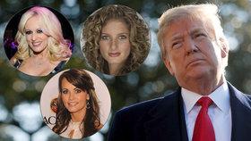 Trump čelí třem žalobám. Žaluje ho pornoherečka, modelka i bývalá účastnice jeho reality show.