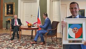 Podle RRTV Soukup před volbami nadržoval Zemanovi