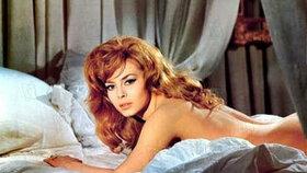Michelle Mercier byla považována za sexsymbol 60. let.