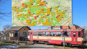 Bubeneč, Jinonice, nebo Branka u Opavy. To jsou některé ze železničních přejezdů smrti.