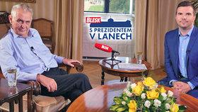 Ptejte se prezidenta Miloše Zemana