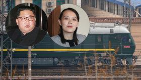 Kdo byl součástí delegace, která vlakem přijela jednat do Číny. Dorazil sám Kim Čong-un?