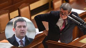 Hamáček se dotázal Babiše, zda skončí ve vládě. Ten odmítl, jediným kandidátem ANO na premiéra zůstává on.