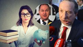Pokladní v Lidlu má víc než učitelka? Štve to Klause mladšího (ODS) i šéfa STAN Gazdíka.