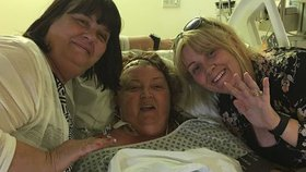 Žena měla v lebce nádor o velikosti golfového míčku.