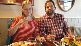 Julija Skripalová (33) se svým bratrem Alexandrem.