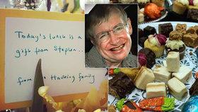 Poslední dar Stephena Hawkinga: Fyzik uspořádal hostinu pro bezdomovce.