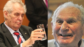 Jiří Růžička zemřel ve věku 77 let, byl to blízký přítel prezidenta Miloše Zemana
